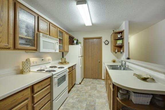 Hidden Valley Apartments in Savage, MN Kitchen