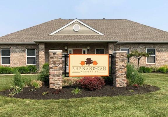 Shenandoah sign at Shenandoah Properties, Indiana, 47905