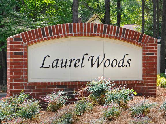 Property Sign at Laurel Woods Apartments, South Carolina, 29607