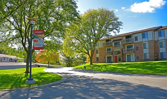 Natural Setting at Cordoba Apartments, Farmington Hills