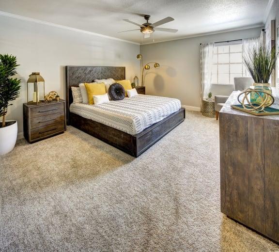 Retreat at Barton Creek Apartments Model Bedroom