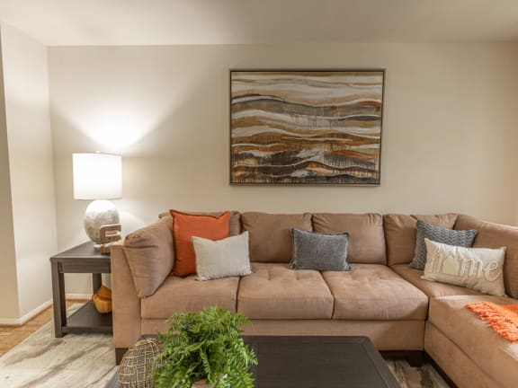 Somerset Woods large living room