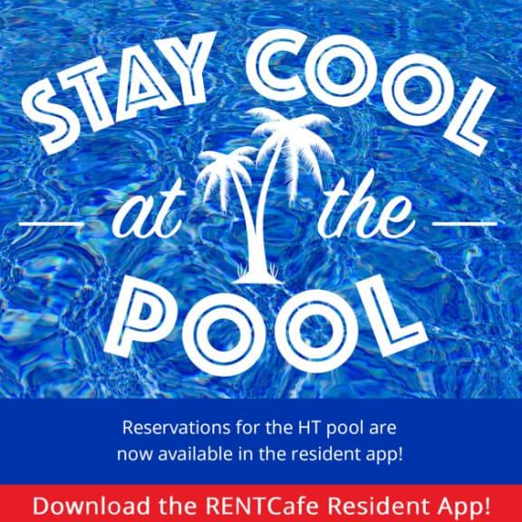 Summer Pool Day at Hancock Terrace Apartments, Santa Maria, CA