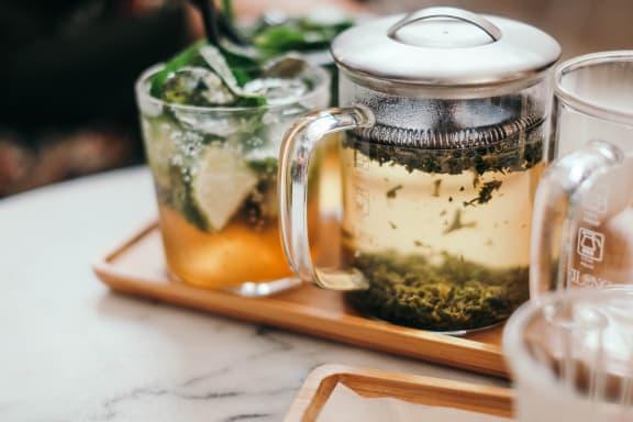 Tea at Hancock Terrace Apartments, Santa Maria