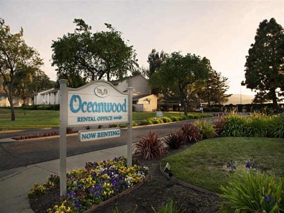 Green Space Walking Trails, at  Oceanwood Apartments, Lompoc California