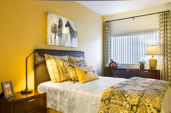 Bedroom at Siena Apartments, California, 93458