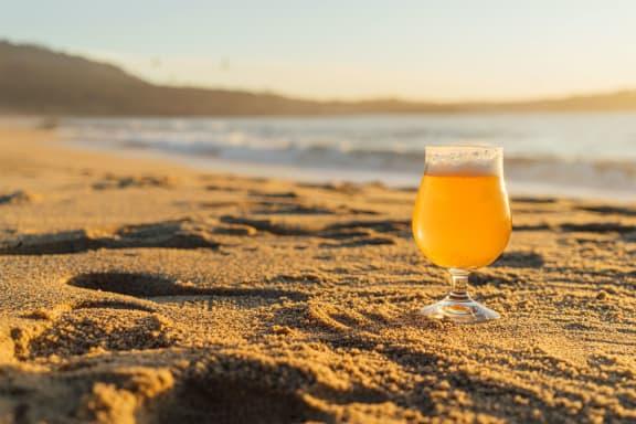 beer_glass_on_beach at Siena Apartments, Santa Maria, California