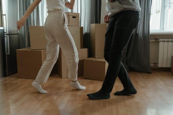 dancing_after_move_in at Siena Apartments, Santa Maria, California