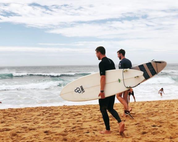 surfboards at Siena Apartments, Santa Maria, 93458