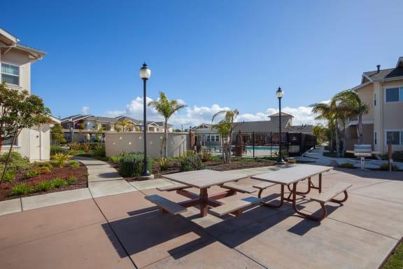 picnic_tables at Siena Apartments, Santa Maria, CA
