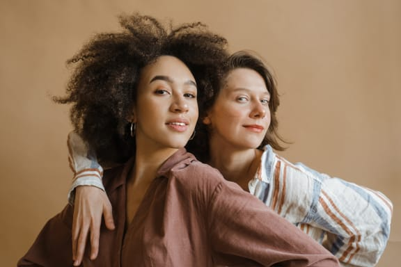 two_girls at Siena Apartments, Santa Maria, California