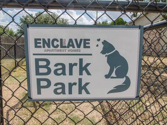 Pet Park at Enclave Apartments, Amarillo, 79106