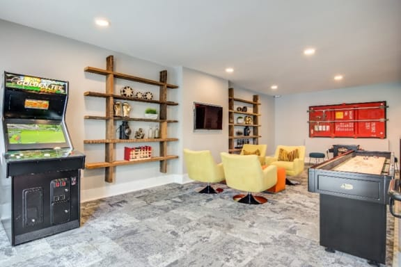 Game Room at Spoke Apartments, Atlanta, GA