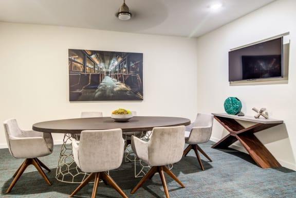 conference_room at Spoke Apartments, Atlanta, Georgia