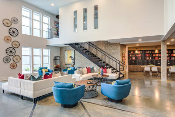 Lounge Area at Spoke Apartments, Georgia