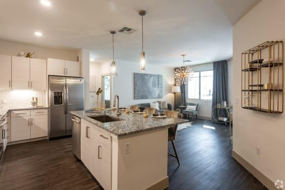 granite or quartz countertops in luxury scottsdale az apartments