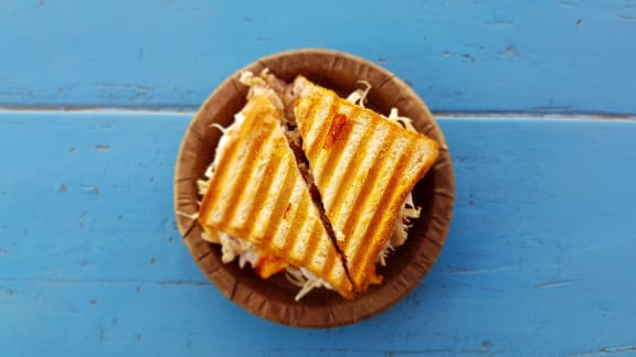 Sandwich at Tomoka Pointe, Daytona Beach