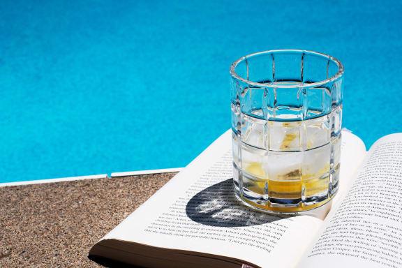 Glass And A Book at Tomoka Pointe, Florida, 32117