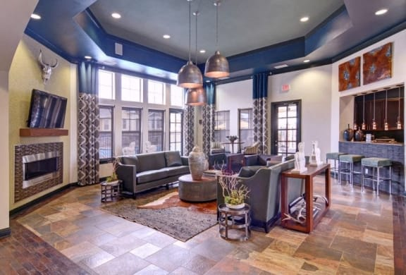 Leasing Office Lobby at Wellington Grande Apartment Homes, Longview, Texas, 75605