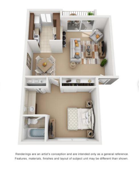 Floor Plan at Encina Meadows, Goleta, CA, 93117