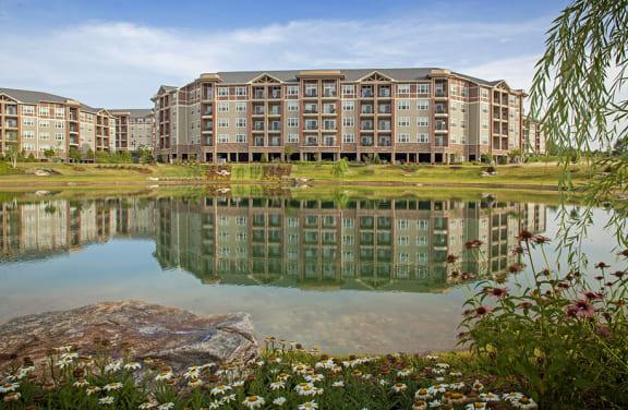 Exteriors-Lake Views at LangTree Lake Norman Apartments, Mooresville, NC