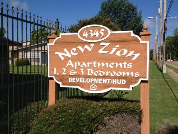New Zion Apartments Shreveport Louisiana
