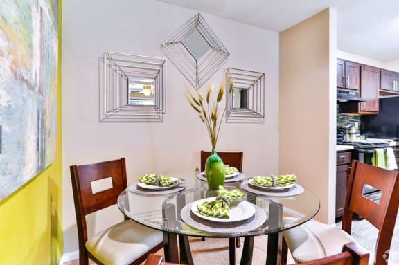 Elegant Dining Room at Ascent Pineville, Charlotte, 28226