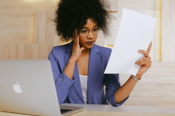 Working Woman at The Point At Westside, Atlanta, GA, 30318