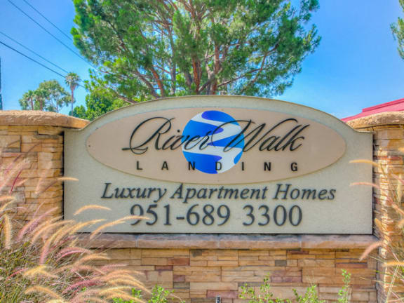 Gated Entrance at Riverwalk Landing Apartment Homes, CA, 92505