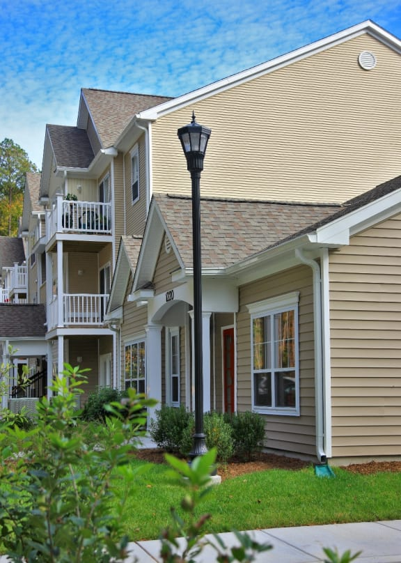Family affordable apartment homes community
