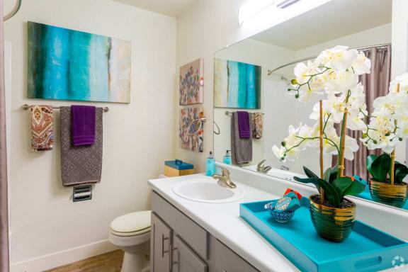 The Quinn bathroom