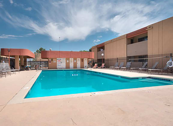 Sparkling Swimming Pool at Desert Creek, Albuquerque