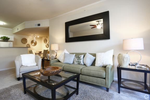Living Room l Cobble Oaks in Gold Ridge CA