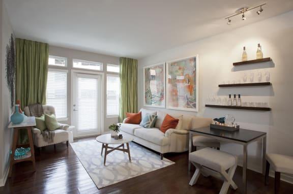 Tapestry Largo Station_Largo MD_Apartment Living Room