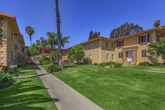 Beautiful Path at Marine View Apartments, San Pedro, CA
