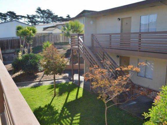 Courtyard Garden at Marina Crescent Apartments, Marina, 93933