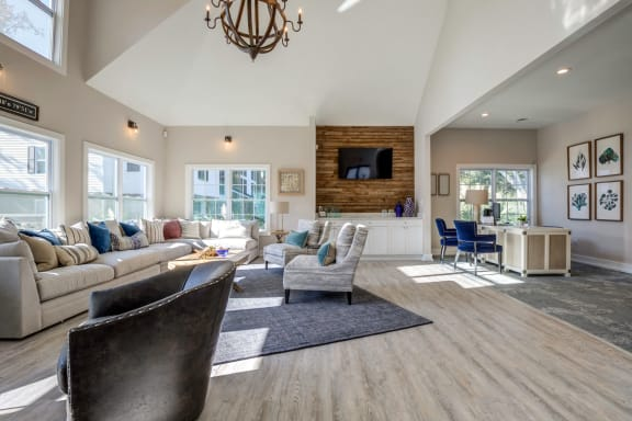 Living Room With Expansive Window at The Watch on Shem Creek, Mt. Pleasant, South Carolina