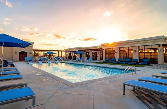 Resort Style Swimming Pool at Westside Heights, Atlanta, 30318