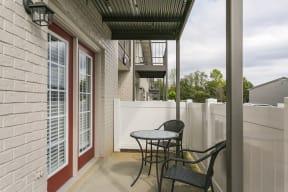 The Slate Model Balcony