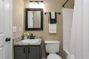 The Slate Model Bathroom