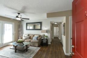 The Slate Model Living Room