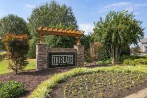 The Slate Entrance