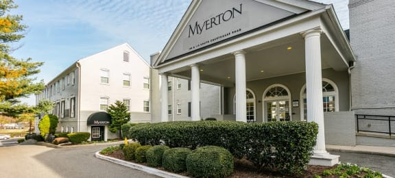 Exterior Leasing Office at Myerton, Virginia