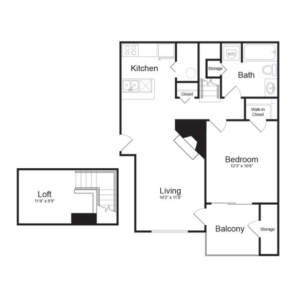 Floor Plan  B Modern