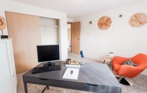 Tacoma Apartments - Monterra Apartments - Second Bedroom