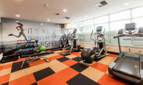 Kent Apartments - The Platform Apartments - Fitness Center