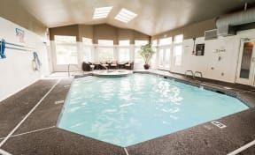Tacoma Apartments - Monterra Apartments - Indoor Pool and Spa