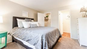 Everett Apartments - Tessera Apartments - Master Bedroom 2