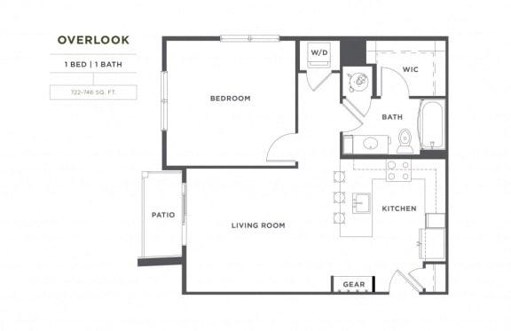 Floor Plan  Overlook FloorPlan at Broadstone Montane, Parker, CO