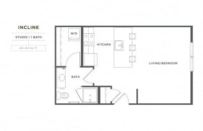 Incline FloorPlan at Broadstone Montane, Parker, CO